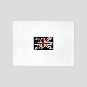 UK Flag England 5'x7'Area Rug
