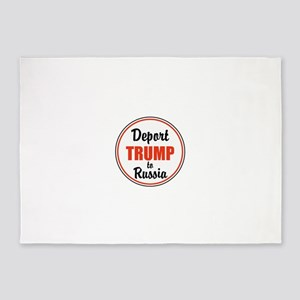 Deport Trump to Russia 5'x7'Area Rug