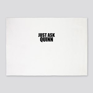 Just ask QUINN 5'x7'Area Rug