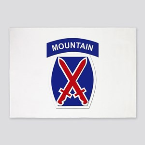 SSI - 10th Mountain Division 5'x7'Area Rug