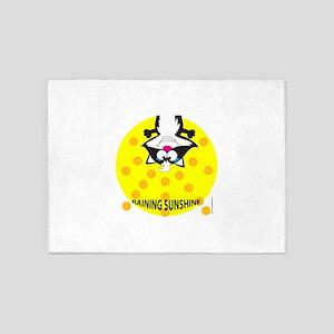 RAINING SUNSHINE 5'x7'Area Rug