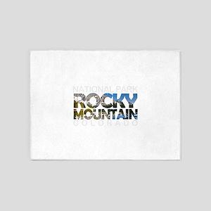 Rocky Mountain - Colorado 5'x7'Area Rug
