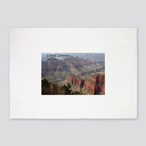 Grand Canyon, Arizona 2 (with capti 5'x7'Area Rug