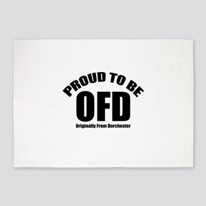 Proud To Be OFD 5'x7'Area Rug