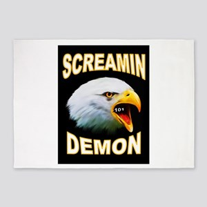 SCREAMIN DEMON 5'x7'Area Rug