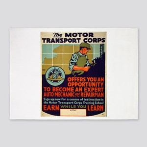 The Motor Transport Corps Offers You An Opportunit