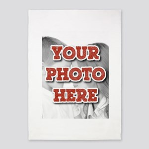 CUSTOM Your Photo Here 5'x7'Area Rug