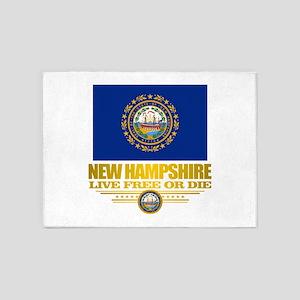 New Hampshire Pride 5'x7'Area Rug
