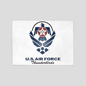 USAF Thunderbird 5'X7'area Rug