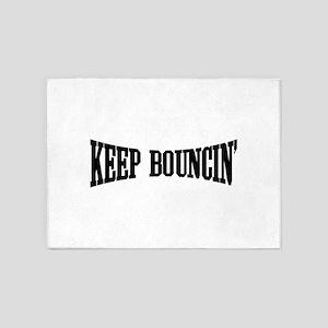 Keep Bouncin' 5'x7'Area Rug