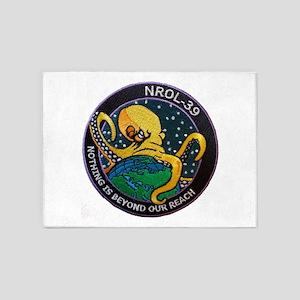 NROL-39 Program Logo 5'x7'Area Rug