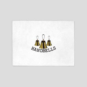 Handbells 5'x7'Area Rug