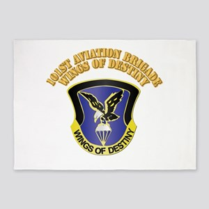 DUI - 101st Aviation Brigade with Text 5'x7'Area R