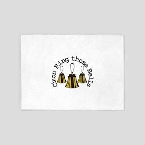 Cmon Ring Those Bells 5'x7'Area Rug