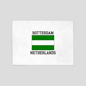 Rotterdam, Netherlands 5'x7'Area Rug