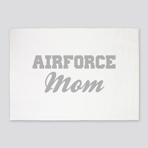 Airforce Mom 5'x7'Area Rug