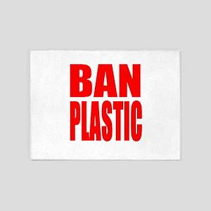 Ban Plastic 5'x7'Area Rug