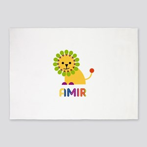 Amir Loves Lions 5'x7'Area Rug