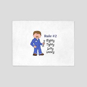 RIGHTY TIGHTY 5'x7'Area Rug