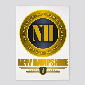New Hampshire Gold Label 5'x7'Area Rug