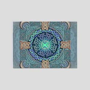 Celtic Eye of the World 5'x7'Area Rug