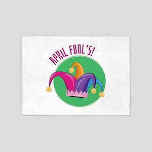 April Fools 5'x7'Area Rug