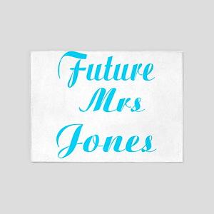 Future Mrs Jones 5'x7'Area Rug