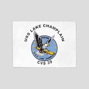 CVS-39 Lake Champlain 5'x7'Area Rug