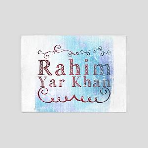 Rahim Yar Khan 5'x7'Area Rug