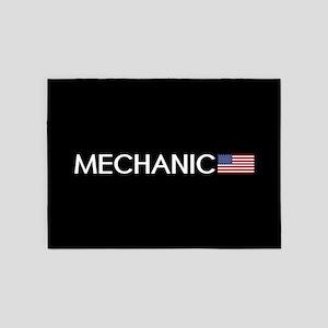 Mechanic: American Flag 5'x7'Area Rug