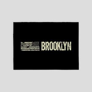 Black Flag: Brooklyn 5'x7'Area Rug