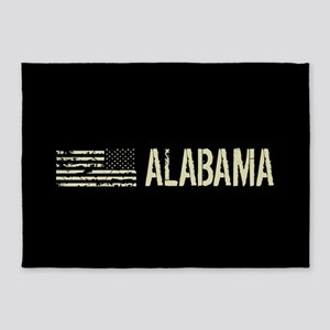 Black Flag: Alabama 5'x7'Area Rug