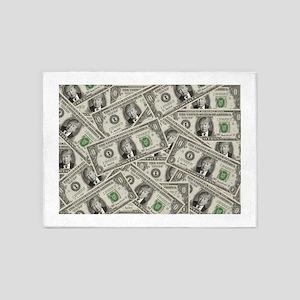 100 Bill Money ZERO Value Donald Trump 5'x7'Area R