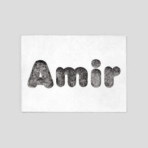 Amir Wolf 5'x7' Area Rug