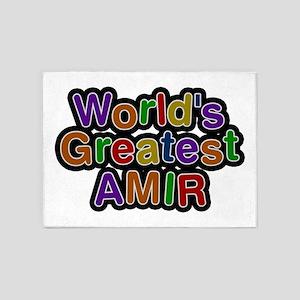 World's Greatest Amir 5'x7' Area Rug