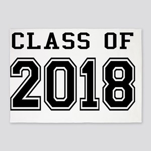 Class of 2018 5'x7'Area Rug