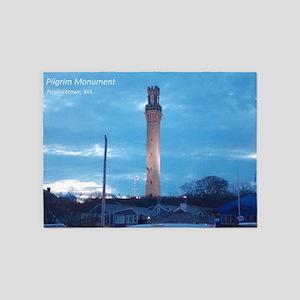 Pilgrim Tower 5'x7'Area Rug