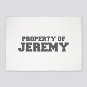 PROPERTY OF JEREMY-Fre gray 600 5'x7'Area Rug