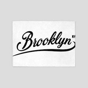 Brooklyn NYC 5'x7'Area Rug