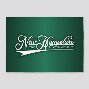 New Hampshire State of Mine 5'x7'Area Rug