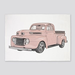 1950 Ford F1 5'x7'Area Rug