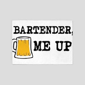 Beer me up 5'x7'Area Rug