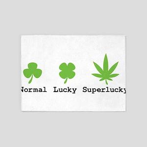 Superlucky 5'x7'Area Rug