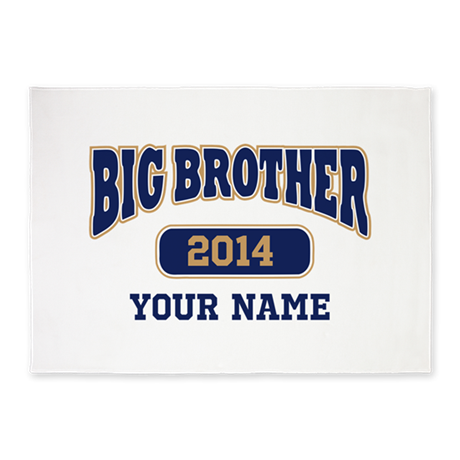 Personalized Big Brother 5'x7'Area Rug