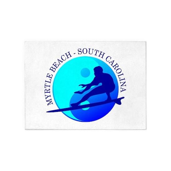 Myrtle Beach (yin-yang) Blue