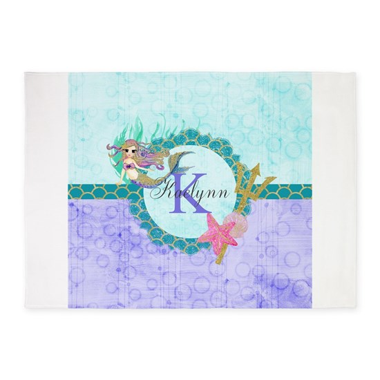 Personalized Monogram Mermaid