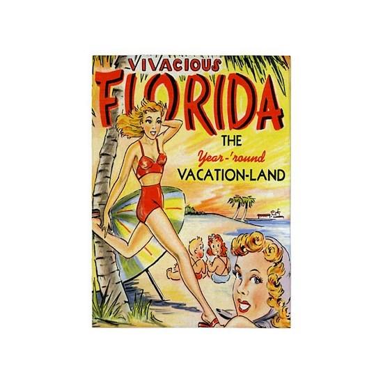 Vintage Florida Vacation Land