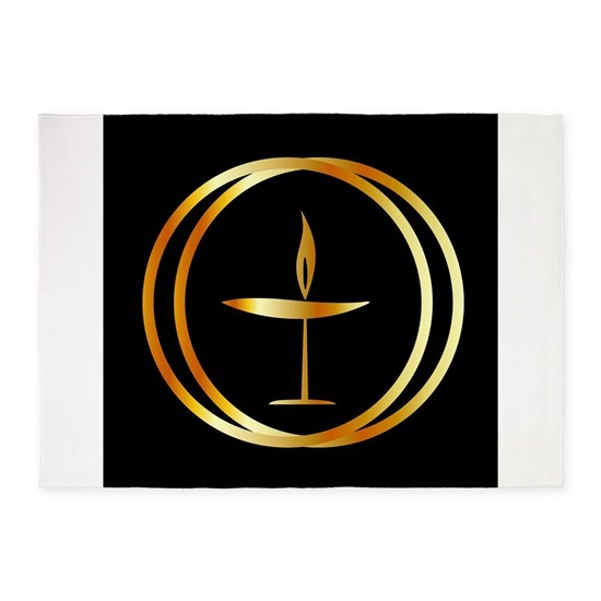 The Flaming Chalice- the symbol of Unitarianism an