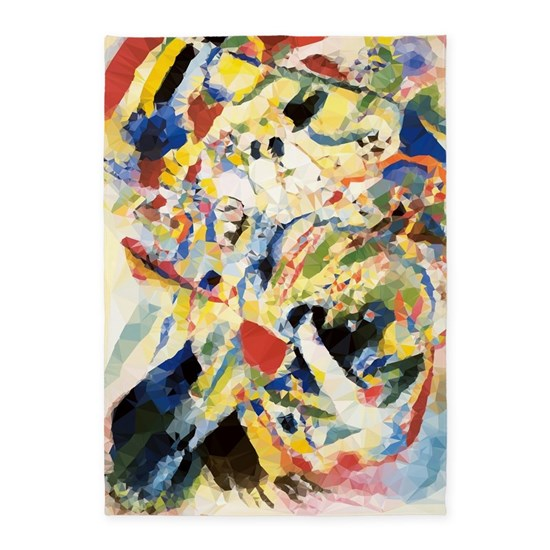Abstract Triangles After Kandinsky