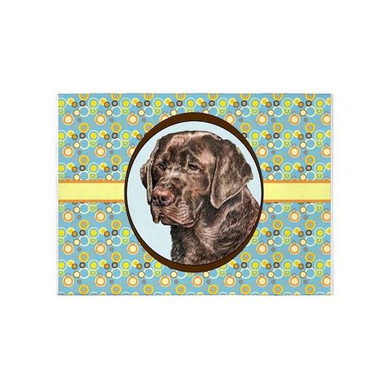 Labrador Retriever, Chocolate Lab, Retro